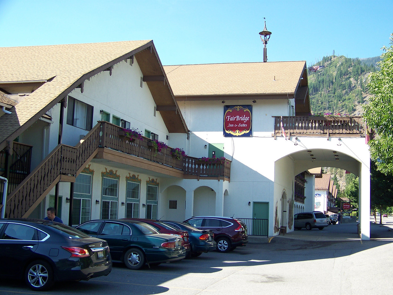 We spent the night here at the Fair Bridge Inn and Suites.<br /> [Leavenworth, WA]