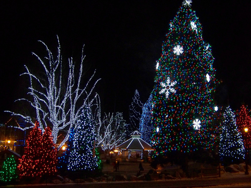 """They really did an amazing job with the Christmas lights--it was very magical! [Leavenworth, WA - December 2013 - <b><a target=""""_new"""" href=""""http://youtu.be/NqCqDCOY_tc"""">Watch my video here</a></b>]"""