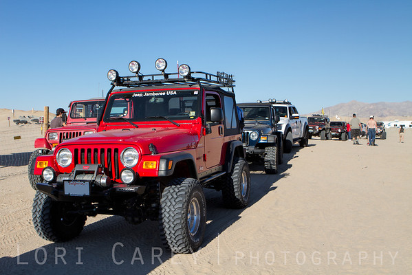 Jeep Lineup, ODF, Ocotillo Wells