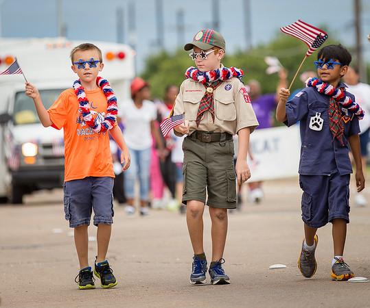 Parade, Fourth of July, Independence, Patriotism, Children
