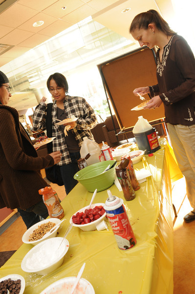 Prince William campus waffle day