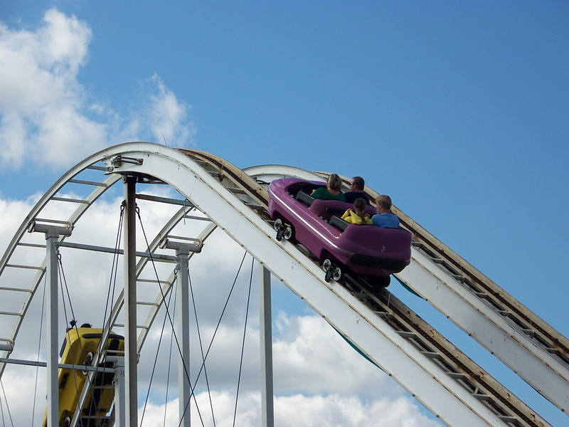 This ride's called Kersplash.<br /> [Puyallup, WA Fair 2009]
