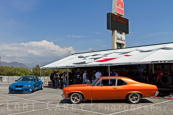Cie Studios' Racing Rivals VIP Event Tent at Irwindale Dragstrip, Irwindale, California. August 29, 2013