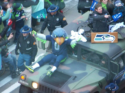 Seattle Seahawks Super Bowl Parade 2014