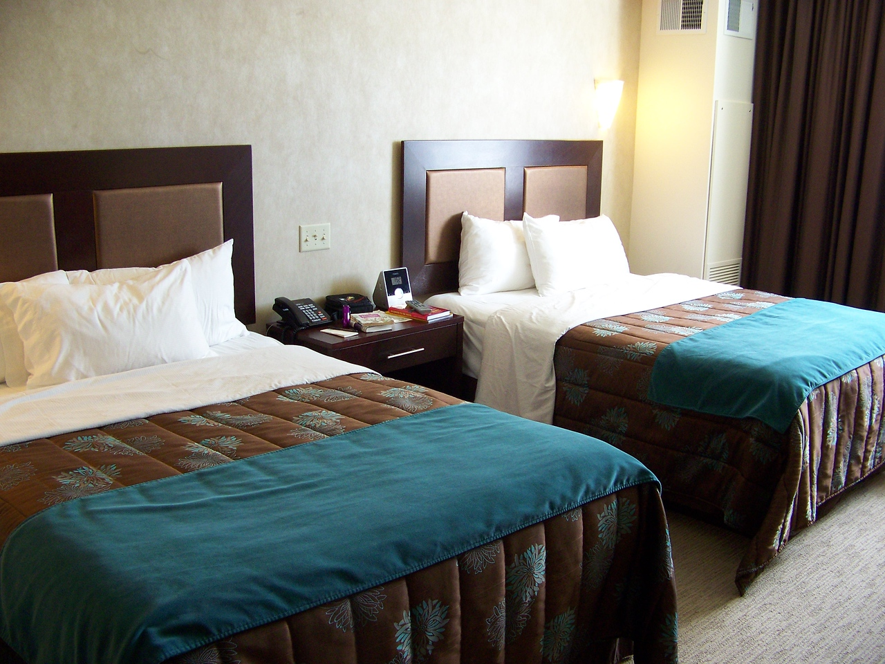Our hotel room was great!  Very comfortable.<br /> [Seven Feathers Resort in Canyonville, OR]
