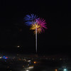 Fireworks in Ocotillo Wells for the 50th anniversary of Tierra del Sol's Desert Safari