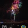 Fireworks over the desert for the 50th anniversary of Tierra del Sol's Desert Safari