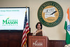 Nirupama Rao, Ambassador of India to the United States, speaks at Mason