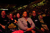 Attendees laugh as comedian Keith Robinson performs before comedian Wanda Sykes at the Patriot Center, Fairfax Campus - 111015507