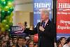 Bill Clinton Political Rally for Hillary