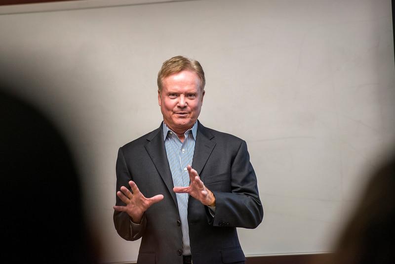 Honors College and Senator Jim Webb