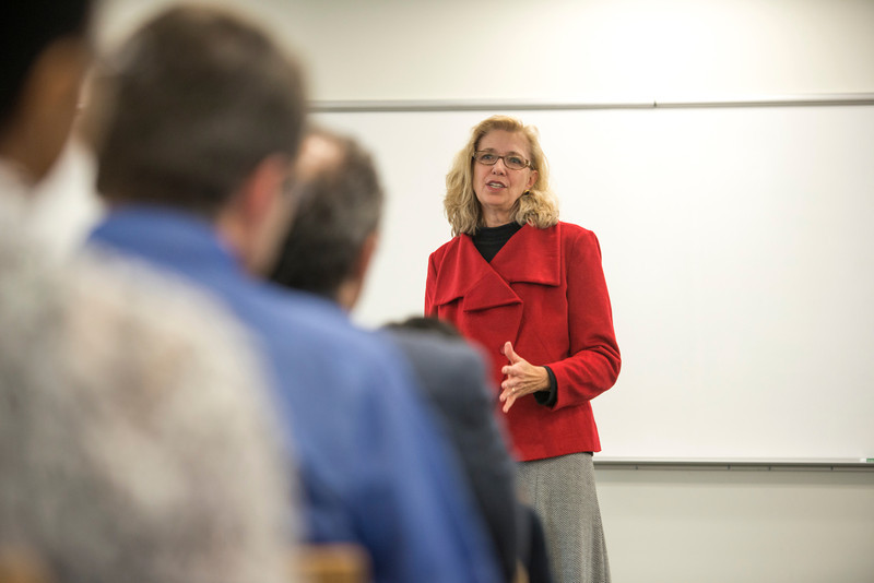 Alumna and Acting Deputy Secretary for Defense Christine Fox