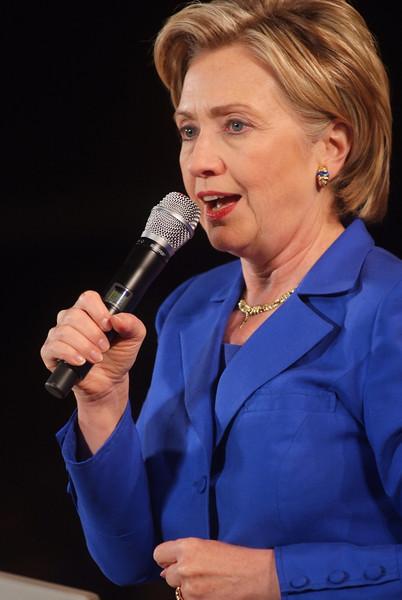 Hillary Clinton Obama Rally