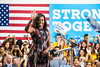 First lady Michelle Obama visits George Mason University, Fairfax Campus, Virginia for a Democratic presidential campaign rally, September 16, 2016.  Photo by:  Ron Aira/Creative Services/George Mason University
