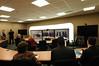 4-VA Cisco TelePresence demonstration with officials from Cisco, James Madison University, University of Virginia, Virginia Tech and George Mason University