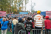 The crowd listens to U.S. President Barack Obama speak at a campaign rally at Fairfax campus. Photo by Alexis Glenn/Creative Services/George Mason University