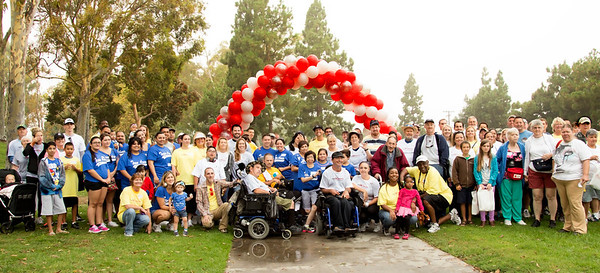 Project Independence March 2013 in Costa Mesa to promote civil rights for people with developmental disabilities through services which expand independence and choice