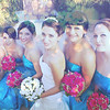 Bride and Maids