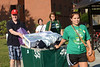 Housing and Residence Life student move-in volunteers help Freshman students and parents during Freshman move-in day in the Shenandoah neighborhood at Fairfax campus.