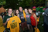 Mason students attending IVth Night events Welcome Week. Photo by Evan Cantwell/Creative Services/George Mason University