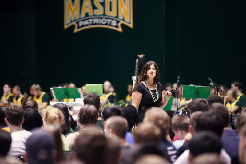 New Student Convocation at the Patriot Center