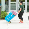 Freshman Move In 2016.  Photo by:  Ron Aira/Creative Services/George Mason University
