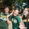 Welcome to Mason College Colors Day.  Photo by:  Ron Aira/Creative Services/George Mason University