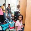 Freshman Move In 2016.  Photo by:  Ron Aira/Creative Services/George Mason University
