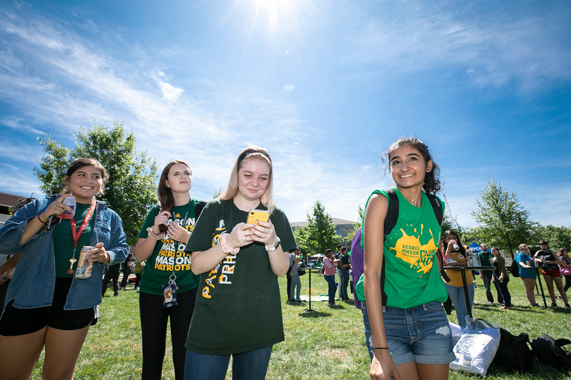 College Colors Day 2019.  Photo by:  Ron Aira/Creative Services/George Mason University