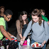 Students attend Pancakes in the Park where they enjoy pancakes, games, music, and meeting new people the day before classes start. Photo by Bethany Camp / Creative Services / George Mason University