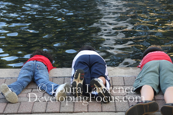 Three Friends at a Fountain, Lincoln Park, Kettering, OH