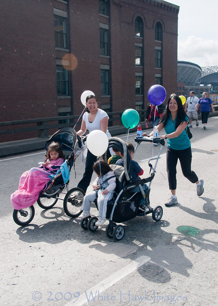 March of Dimes March for Babies, at Qwest Field, Seattle WA
