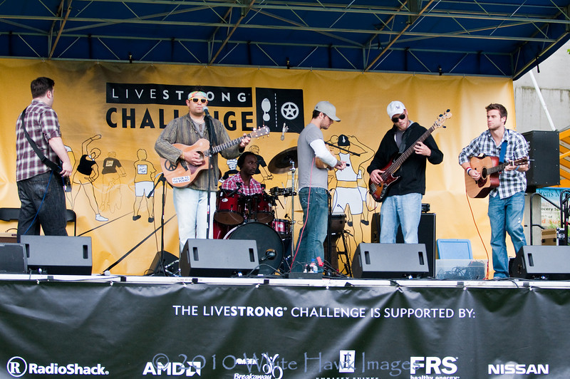 2010 LiveStrong Challenge, at Seattle Center