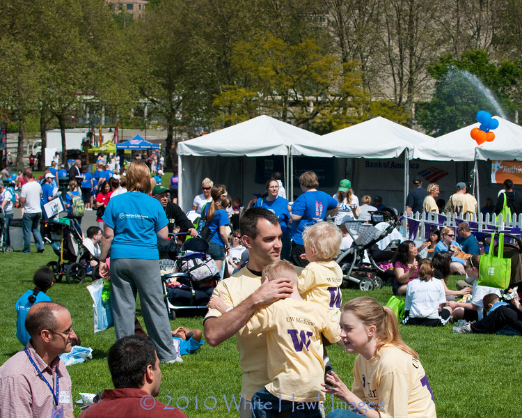 2010 March of Dimes March for Babies, at Seattle Center, Seattle WA