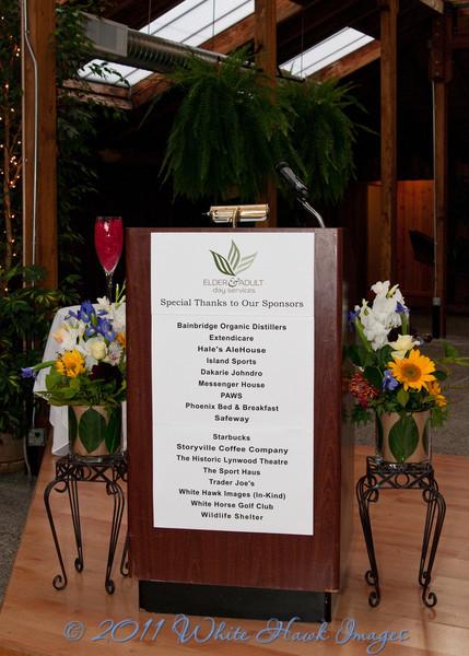 Elder & Adult Day Services - Fundraising Dinner, Kiana Lodge