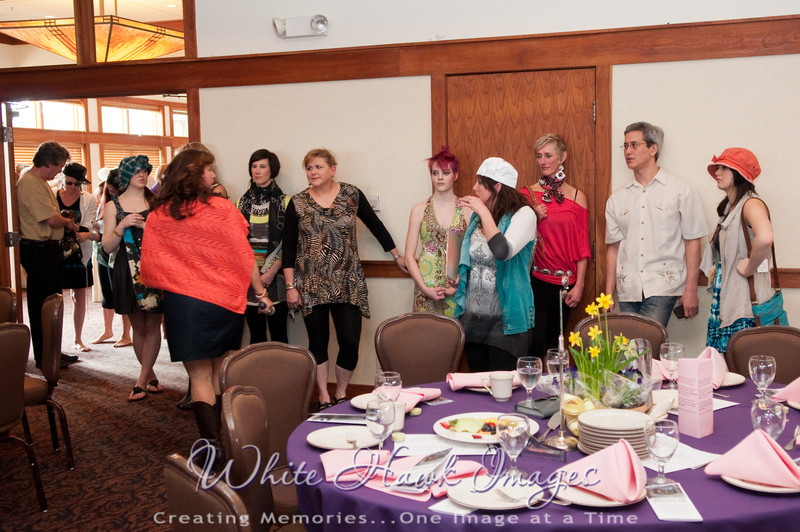 Mt. Si Senior Center Fashion Show, at Snoqualmie Golf Club