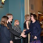 D_4574-Lindsey Mullholand, Judy Bliss, Stephen J Storen, NES President Anne Hall Elser, Connie Greenspan
