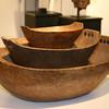 111_5432-Nesting of Woodlands Ash Burl Bowls, Circa 1820, Steven Powers
