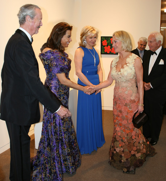 IMG_3112 The Duke of Marlborough, The Duchess of Marlborough, Hilary Geary Ross, Mary Ourisman, Mandell Orseman