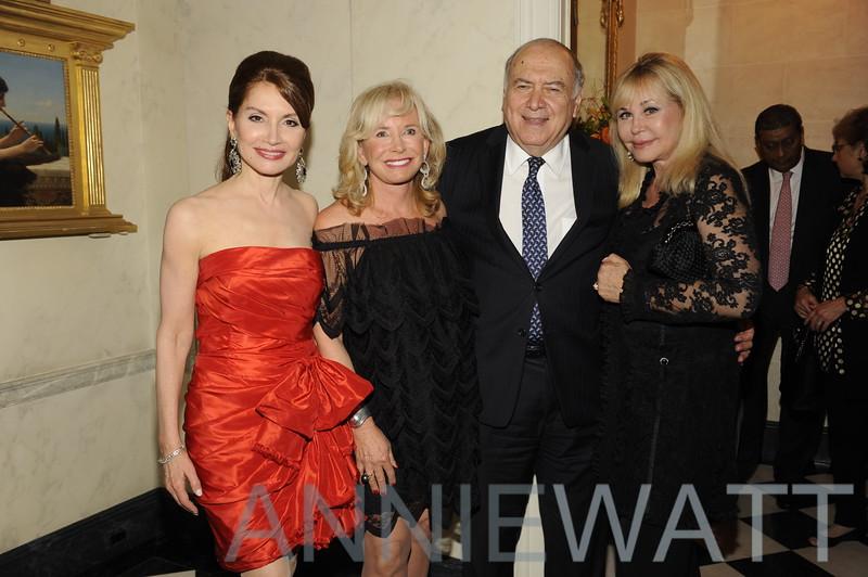 A_3560 Jean Shafiroff, Sharon Bush, Martin Shafiroff, Ava Roosevelt