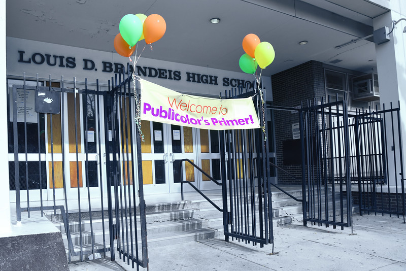 A_02 Louis D  Brandeis High School welcomes Publicolor's Primer!