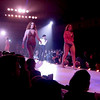 singer-on stage