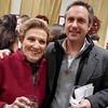 808-Mildred Brim with new Parrish Art Museum co-chairman Carlo Bronzini