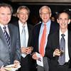 Harris Briston, Arthur Bierman, Dr. Howard Ginsberg, and Dr. Bernard Dryer