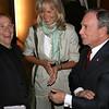 Joel Grey, Brenda Siemer-Scheider, Mayor Michael Bloomberg