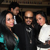 Designer To-Tam Ton-Nu, George T. Wilson, Designer To-Nya Ton-Nu attend Fete De Forty --Celebrating the 40th Birthday of Tia Walker