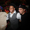 Actor Tristan Wilds and friends