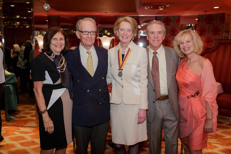 1 DD-1601-Dance Co-Chairs Jan and Tad Ogden, President Anne Hall Elser, Dance Co-Chairs Stuart and Karen Bevan