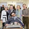 A13084 Peggy Fender, Joyce Castleberry, Brian Fender, Mel Barden, Jim Barden
