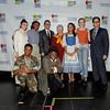 DDP11268 Laramie Project Student Cast, Peter Avery, Carmen Farina NYC Schools Chancellor, Paul King